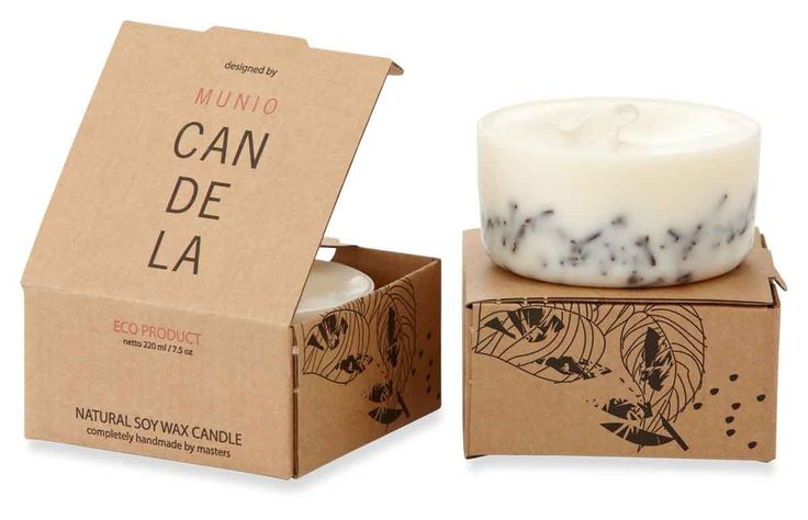 Scented Mini Soy Wax Candle Infused - Cloves 220Ml  (Cloves Aroma)
