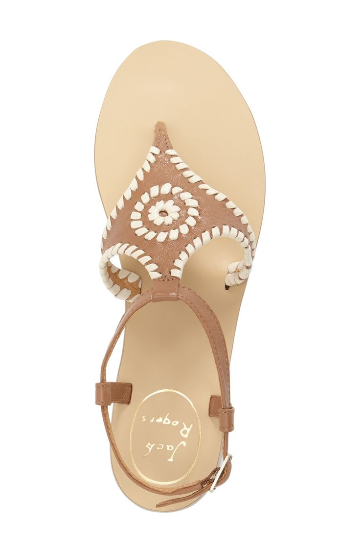 Jack Rogers 'Maci' Flat Sandal (Women)