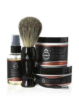 50% OFF eShave 4-Piece Essential Set in Almond Scent, Black