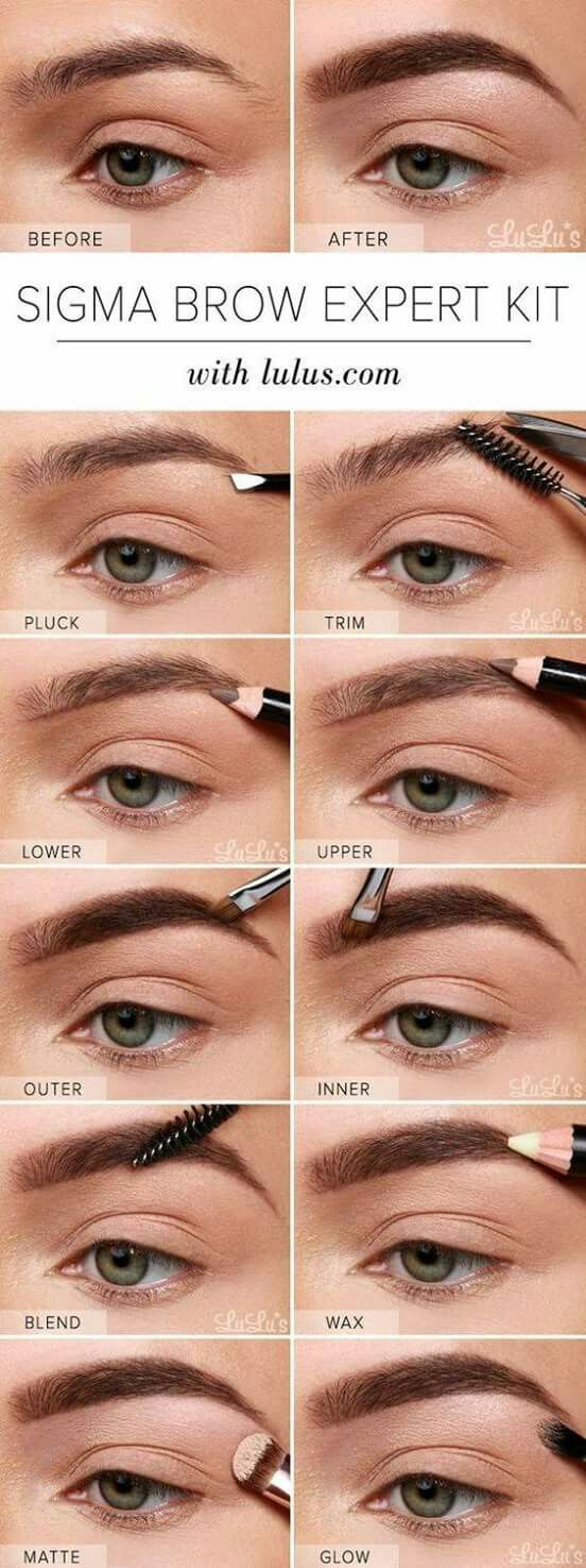 63 best beauty and the chic images on pinterest beauty makeup get on that cara delevingne eyebrow grind 17 insanely beautiful makeup looks that arent just another smokey eye geenschuldenfo Image collections