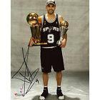 """For Sale  - Tony Parker San Antonio Spurs 2007 NBA Finals Autographed 8"""" x -Item #3734697 - http://sprtz.us/SpursEBay"""