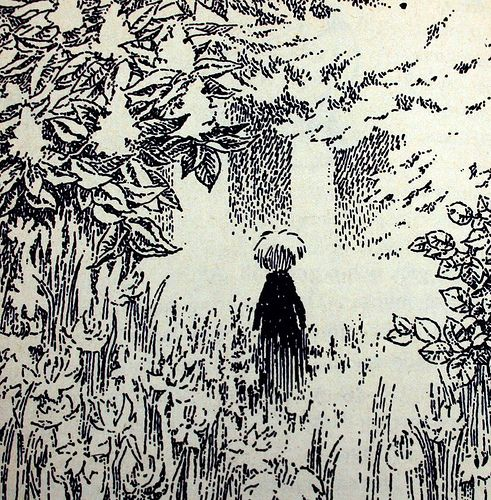 Moominvalley in November (pictures by Tove Jansson)