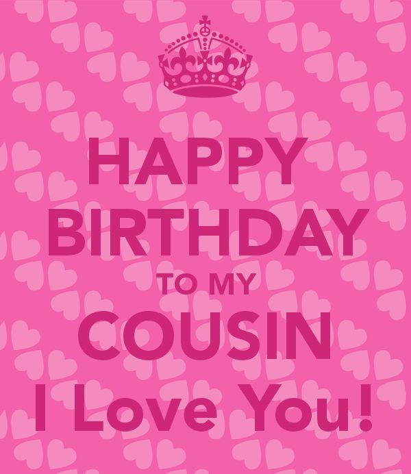 Birthday Cards: Cousins