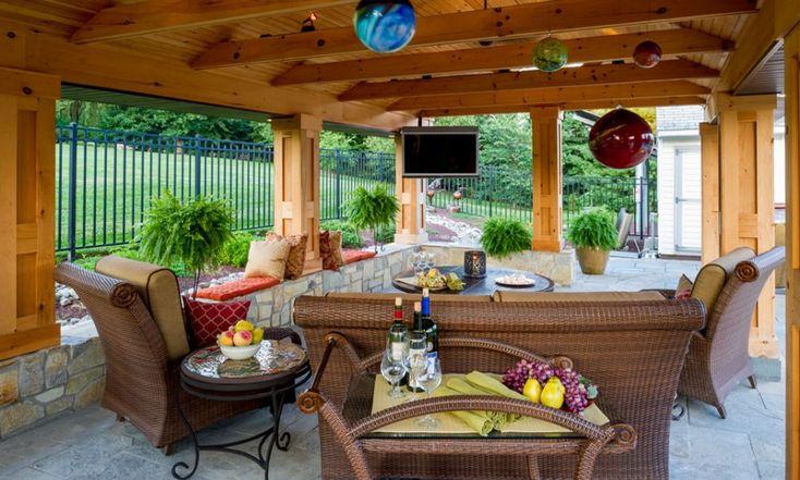 Bucks County Pool House Plan & Design   Pool Houses in Richboro PA   Gasper Landscape Design & Construction