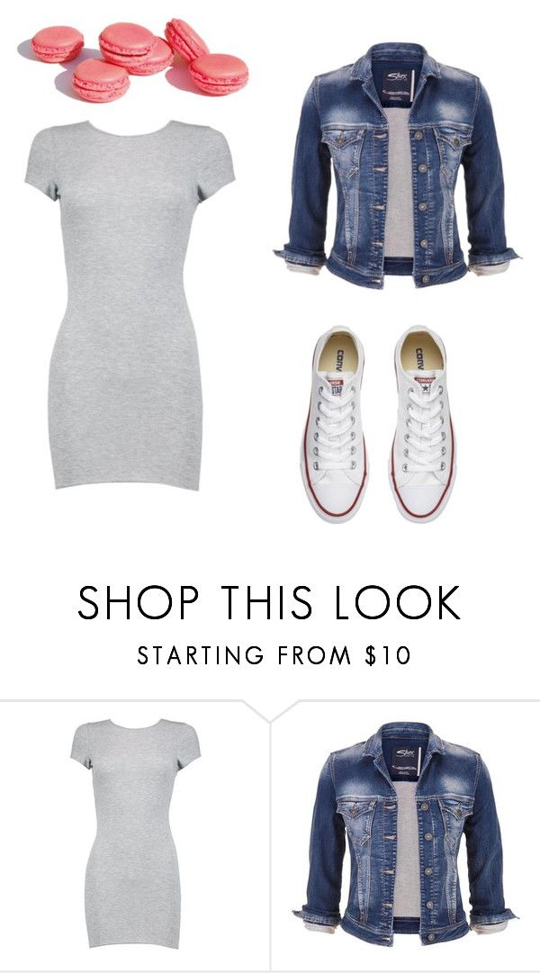 """""""Untitled #26"""" by leenap on Polyvore featuring Boohoo, maurices and Converse"""