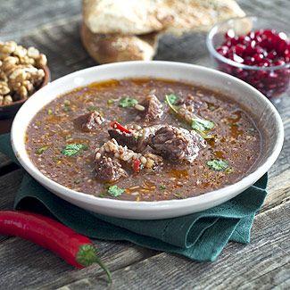 Суп харчо в мультиварке. Georgian