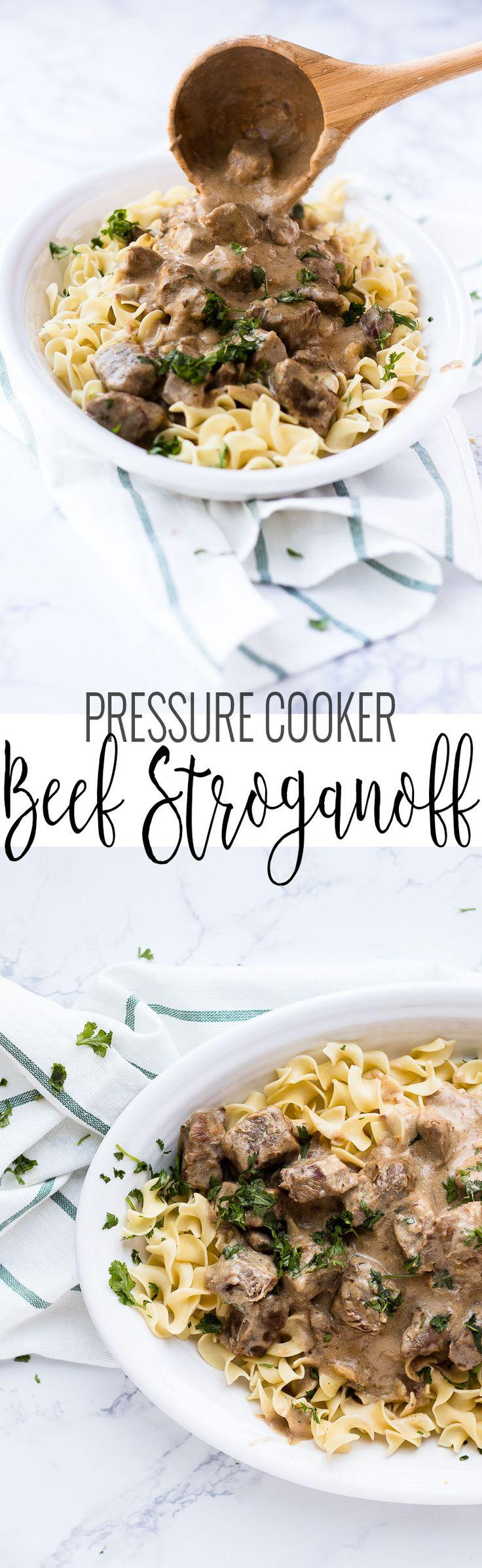 Beef Stroganoff - Oh So Delicioso