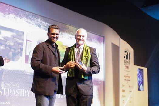 Osvaldo Gross - Mejor Chef Repostero de América Latina, otorgado por 1º vez por Restaurant Magazine y San Pellegrino junto a Los 50 Mejores Restaurantes de América Latina  - Septiembre 2014.