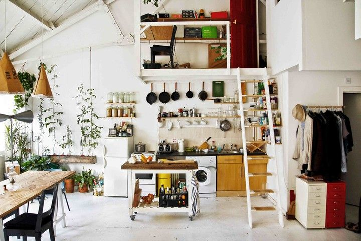 Tottenham loft, une rehabilitation economique | Planete Decor