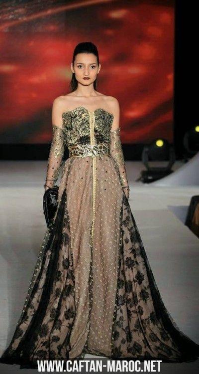 caftan bustier style robe de soir e bustier tendance avec sfifa et aakads caftan dentelle