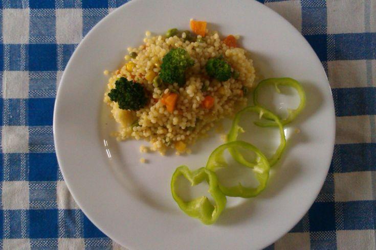 Tarhoňa so zeleninou