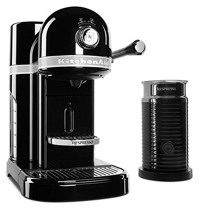KitchenAid KES0504OB Nespresso Bundle, Onyx Black Review ...