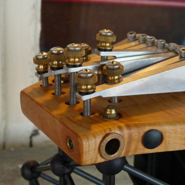 Harmos Americana 8-String Carbon-Fiber Space-Age Lap Steel Guitar | Reverb