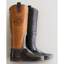 Santana Canada(MD) Bottes d'équitation Olympia 13po en cuir pour femmes