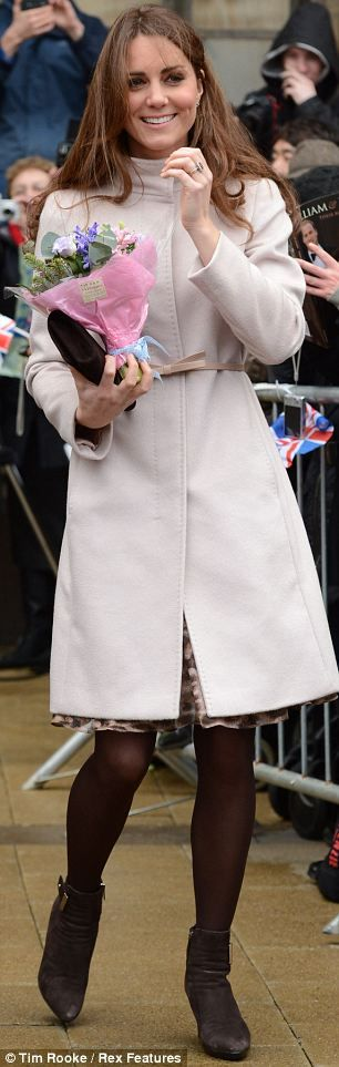 Ladies, What do we think to Kate's Wool Coat? Something you'd get wrapped up in for a day at the races?