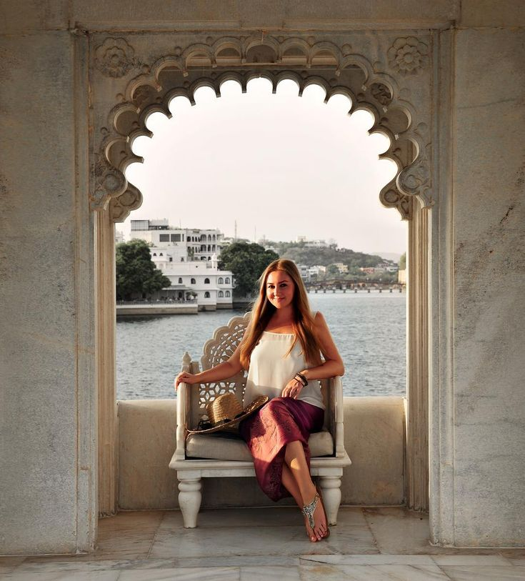 Liz....At the Taj Lake Palace hotel in Udaipur, India. It's one of those places that offer a truly authentic experience—no other hotel in the area offers chambers that once had hosted the rulers of Udaipur. It's a one in a lifetime opportunity to stay at an authentic Maharani palace—in the middle of a lake. Photo © TravelPlusStyle.....https://www.instagram.com/p/BOhSNvyl0BD/