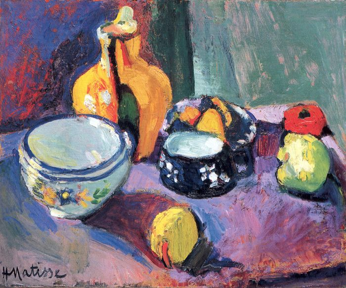 VASE WITH FRUIT  Hermitage, Saint Petersburg  1901