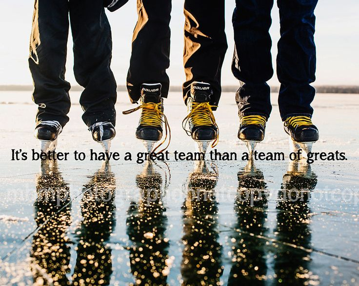 It's better to have a great team than a team of greats. 8x10 Photo Print. by SportyPrintsbyMBM on Etsy