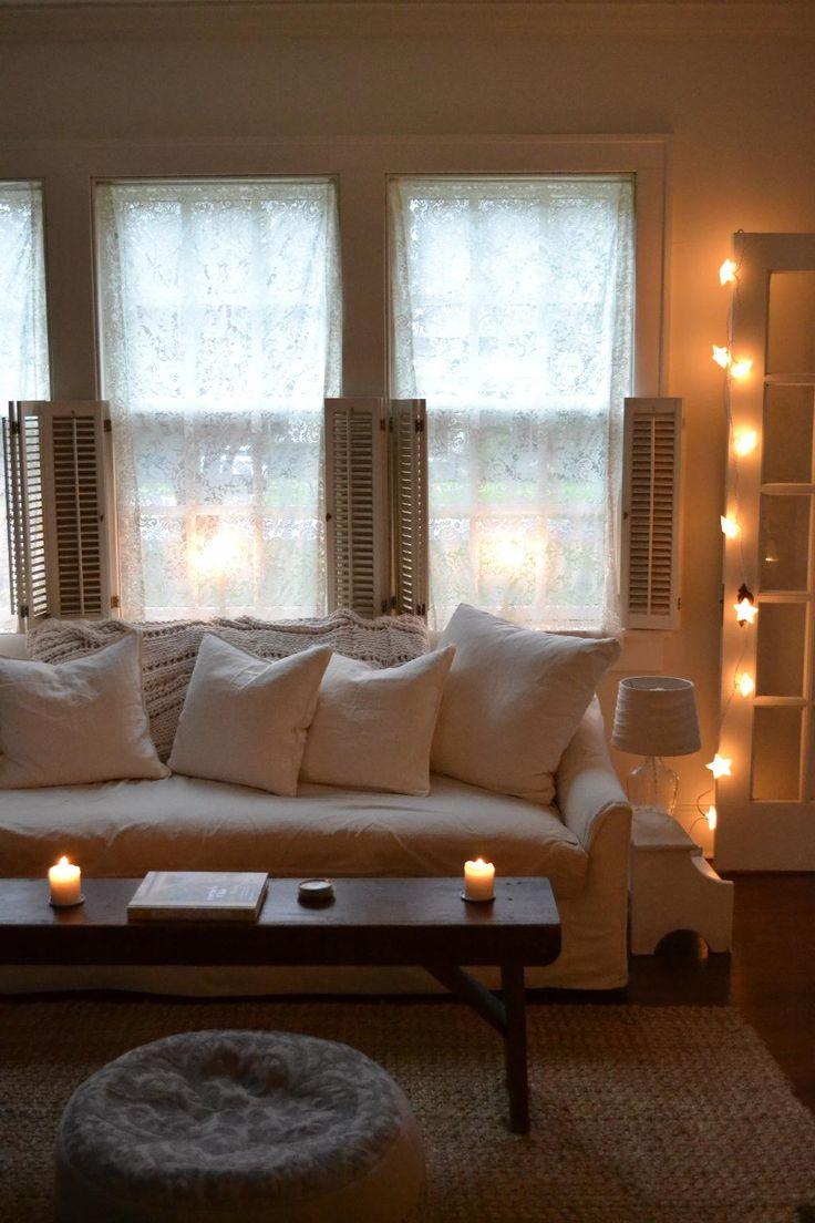 String Lights Living Room : 442 best images about String Lights on Pinterest String lights, Light string and Curtain lights