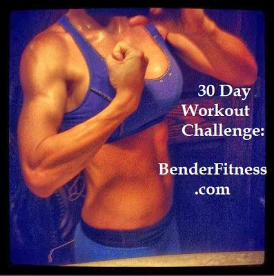 30 Day Workout Challenge - Melissa Bender Fitness