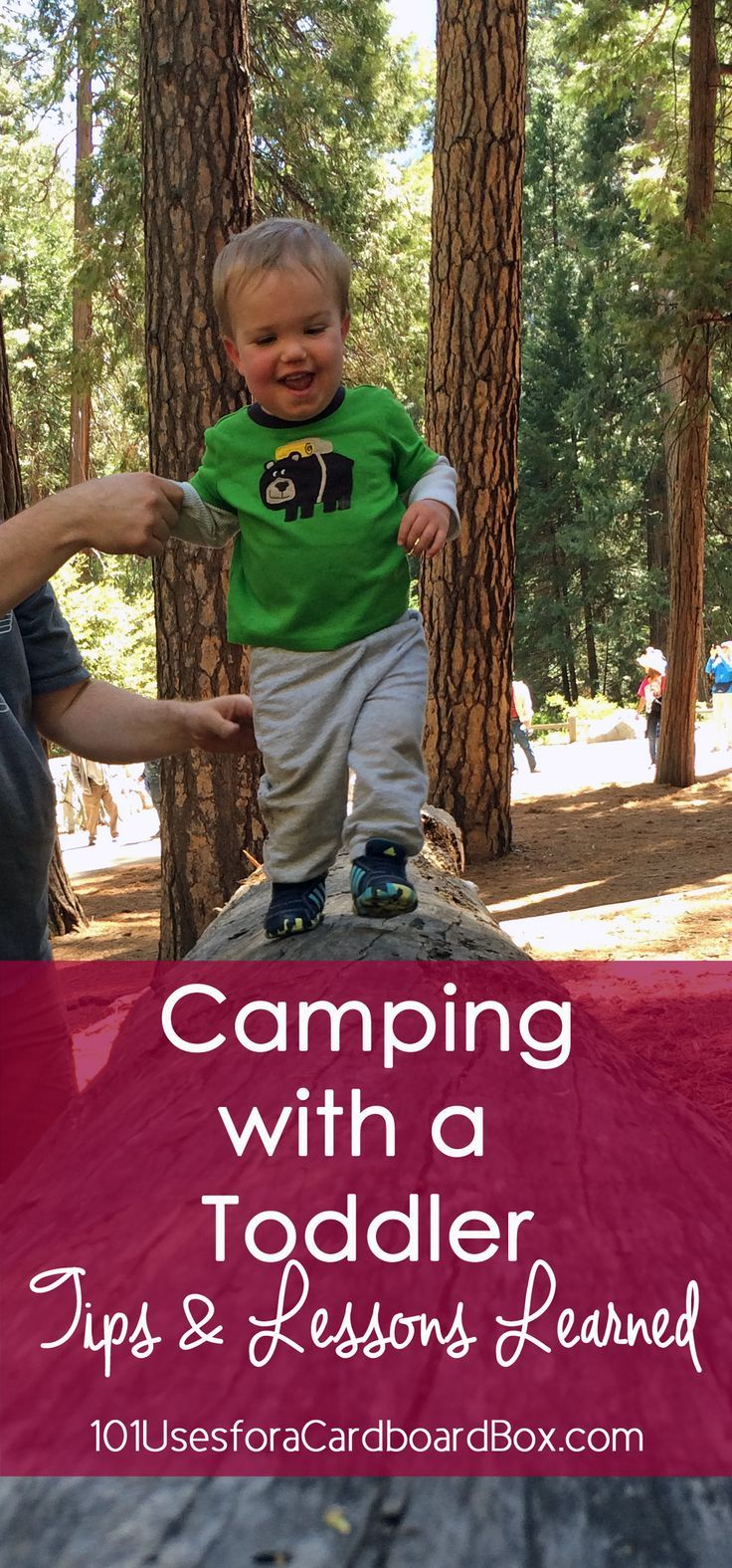 Camping With A Toddler Tips Lessons Learned