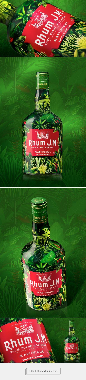 Rhum JM - Jungle Macouba packaging design by LINEA Packaging (France) - http://www.packagingoftheworld.com/2016/07/rhum-jm-jungle-macouba.html