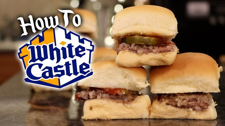 how to make white castle sliders at home