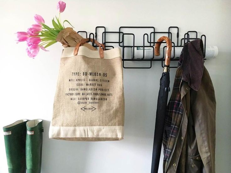 Manage Monday coat rack in black photo by louie_bastien