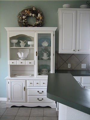 17+ images about small kitchen hutch on pinterest | cabinet space