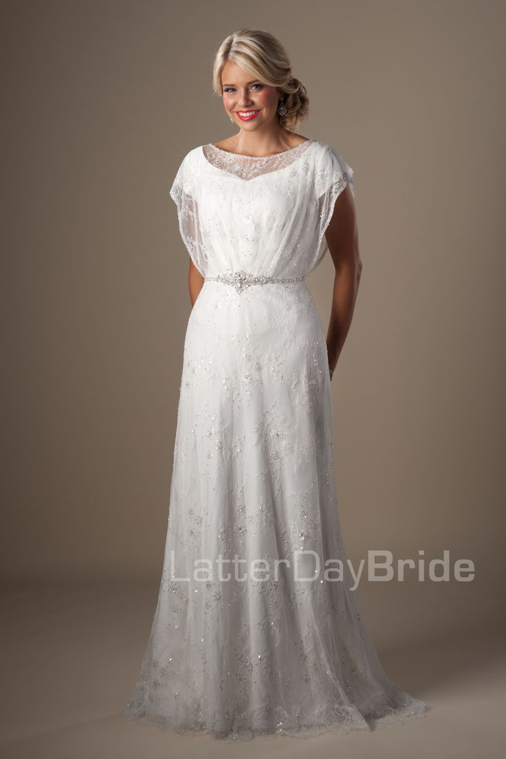 17 best ideas about vintage style wedding dresses on for Latter day wedding dresses