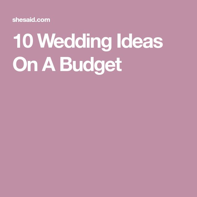 Very Low Budget Wedding: Best 25+ Low Budget Wedding Ideas On Pinterest
