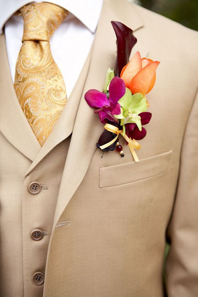 18 The Most Popular Groom Suits ❤️ See more: http://www.weddingforward.com/groom-suits/ #weddings