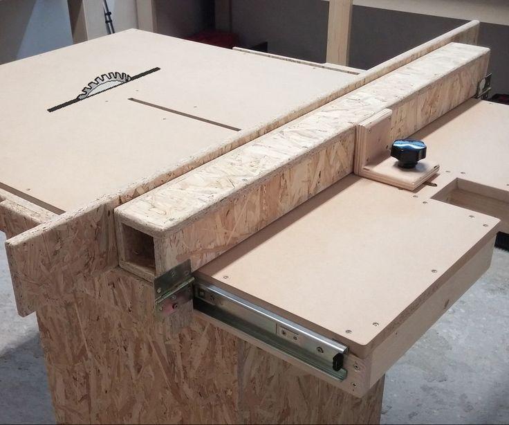 17 terbaik ide tentang table saw fence di pinterest jig untuk bagian kayu garasi lokakarya Table saw fence