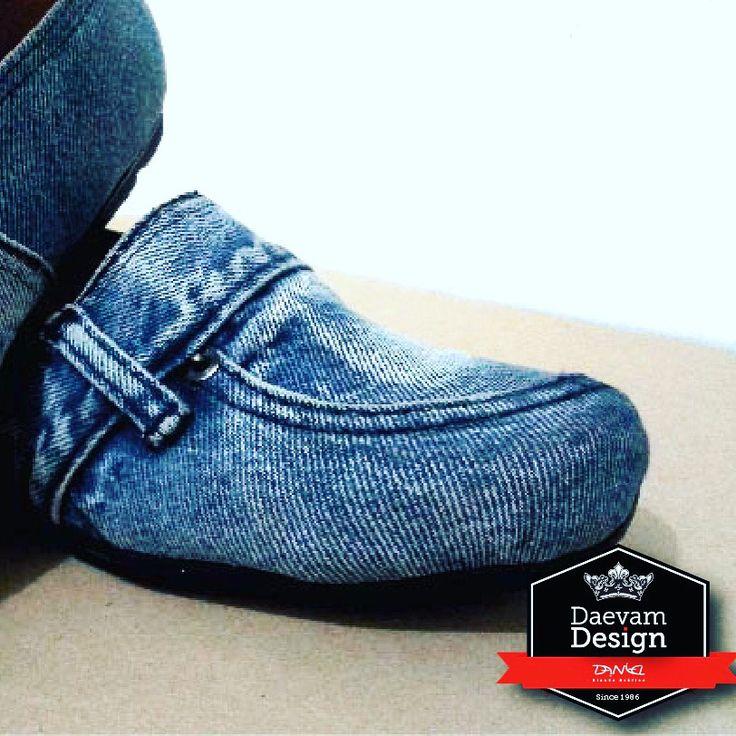 Zapatos con jean viejos