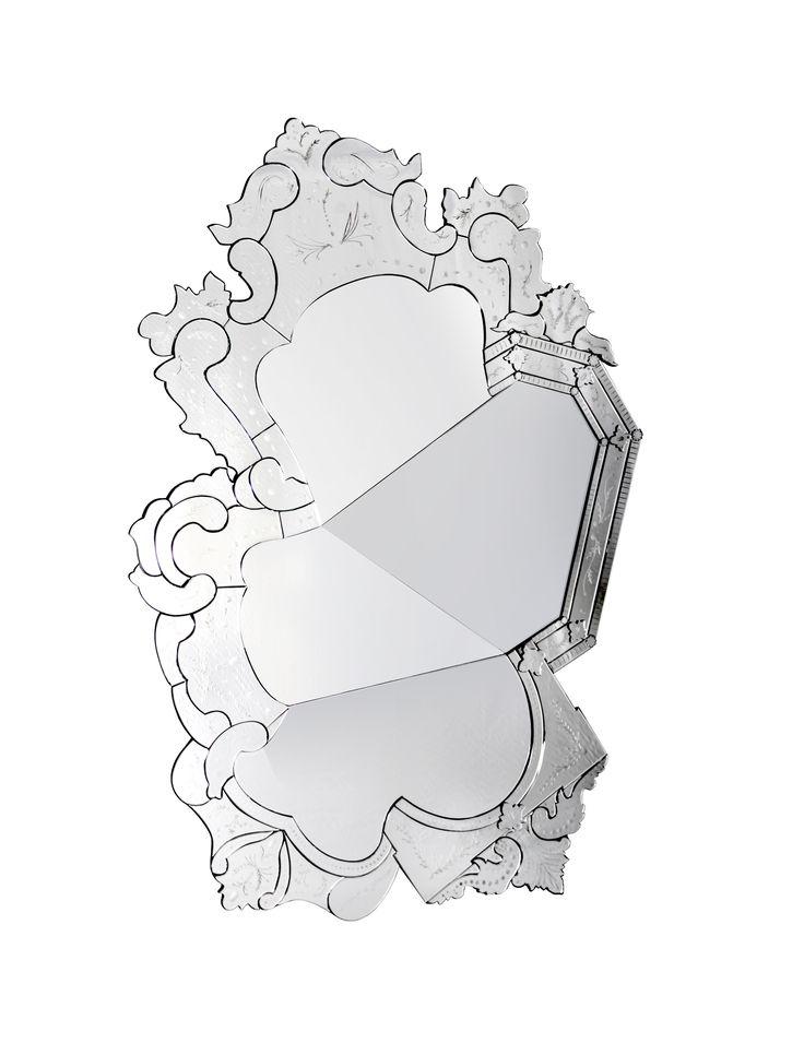 Venice Mirror By Boca do Lobo   www.bocadolobo.com #bocadolobo #luxuryfurniture #luxurydesign #bespoke #furnituredesign #readytoship  #venice #mirror
