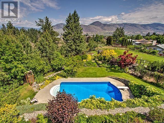 Amazing pool and backyard at 359 Chino Pl in Kamloops.  See it at Snap Up Real Estate.