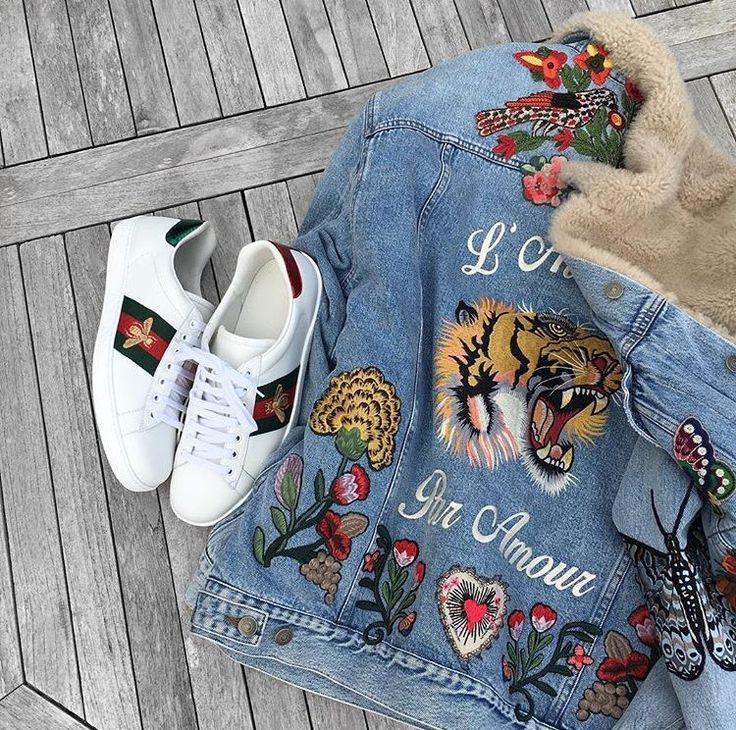 Gucci Sneaks X Denim Jacket