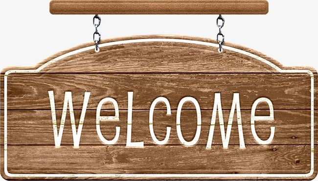 Welcome Signs, Welcome Clipart, Indicator, Card Information PNG ...