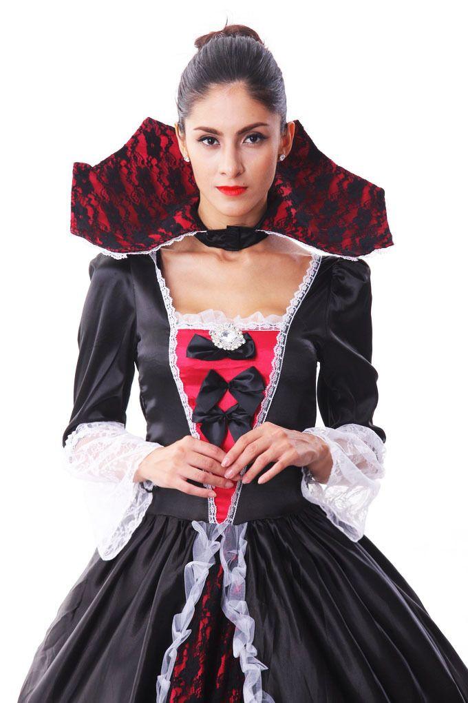 Хэллоуин Карнавальные Костюмы Женщины Делюкс Вампиров Зомби Невесты Костюм Партии Cosplay Королева Необычные Платья Одежда для Женщин