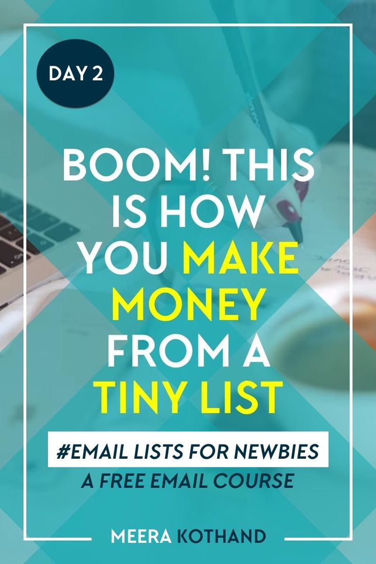 Looking for new ideas on how to grow your email list and what to send them? You know you need to take your email list seriously but you just don't know how. In this free email course you'll learn how to start, nurture and finally profit from your email list (even if you haven't sent out a single email to your list yet)