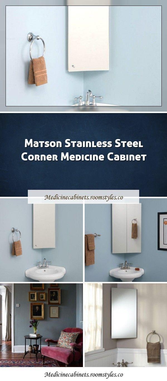Camargo Stainless Steel Corner Medicine Cabinetcamargo Stainless Steel Corner Me Cabi In 2020 Building A Kitchen Farmhouse Medicine Cabinets Corner Medicine Cabinet