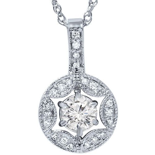 34 best diamond pendants images on pinterest diamond pendant 12ct vintage diamond pendant round brilliant cut by pompeii3 35999 mozeypictures Image collections