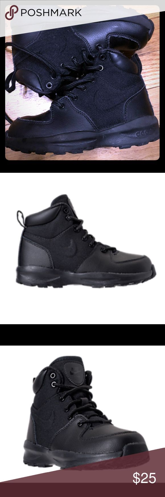 Nike ACG boot All black Barely worn Nike ACG Boots Nike Shoes Boots