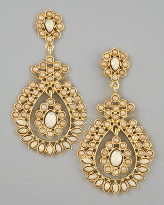 Winter Style Ideas Fashion And Outfit Indian Chandelier Earrings Plated In 18 Karat Gold