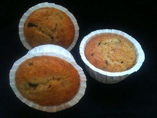 Frk Cupcake: Ægte banan muffins brugte 150 g smør i stedet for olie.