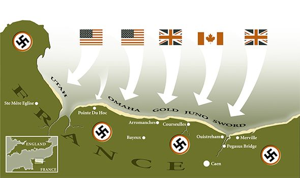 d-day from the german perspective