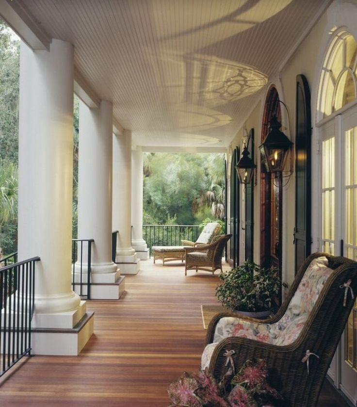 Балкон в загородном доме фото дизайн