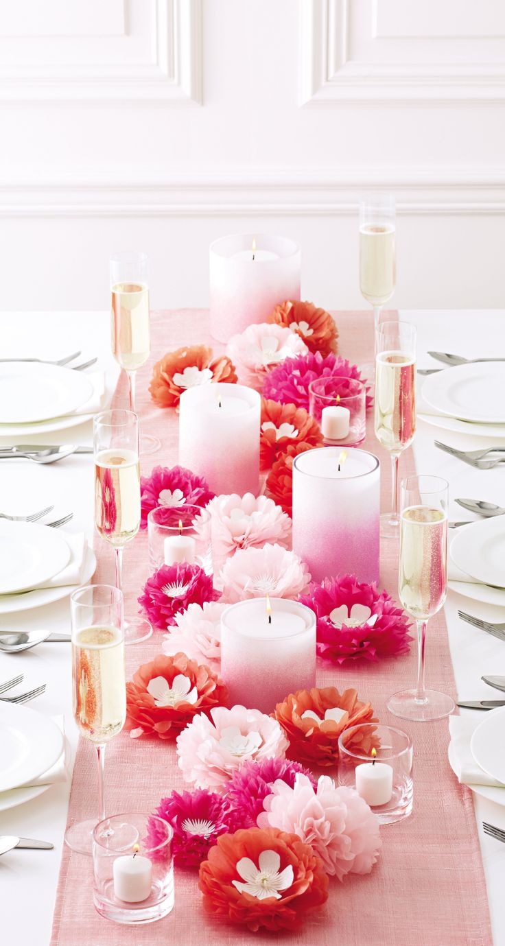 Get everything you need to craft a perfect Mother's Day Brunch from #marthastewartcrafts at @Michaels Stores: Table Settings, Holiday, Table Decorations, Candle, Marthastewartcrafts, Martha Stewart Crafts, Flower, Mothers Day Brunch Decorations