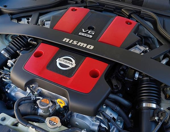 Under the bonnet, Nismo has increased output from the 370Z's 3.7-litre petrol V6 to 344hp – 16hp more than the 328hp of the standard car. Torque also improves, from 267lb ft to 273lb ft. Significantly, the engine is now said to respond better at lower revs – so it should be more fun more of the time.