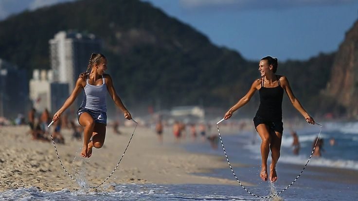 World's Best Jump Rope Sisters - Rope Skipping Duo
